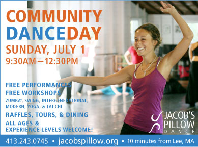 Community Dance Day on Sunday, July 1