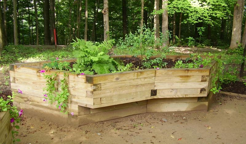 accessible raised garden bed