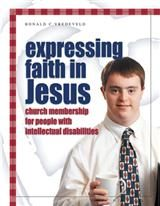 Cover of Expressing Faith in Jesus showing a youth in tie and white shirt