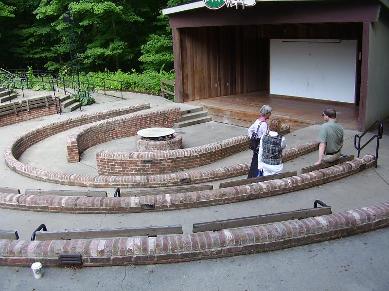 Bradford woods accessible amphitheater