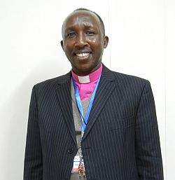 Bishop Samuel smiling