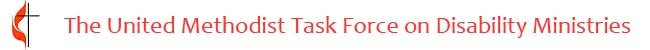 logo of the United Methodist Task Force on Disability Ministries