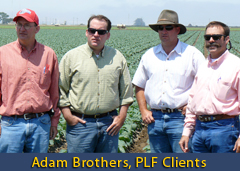 Adam Brothers, PLF Clients
