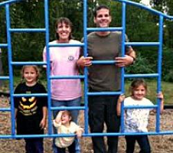 The Osborne family awaits their new addition!