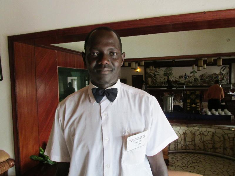 Okello Richard at Nile Resort Hotel in Jinja