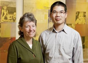 SaiJun Zhang and Mary Keegan Eamon