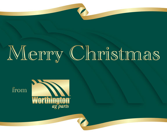 Merry Christmas from Worthington Ag Parts