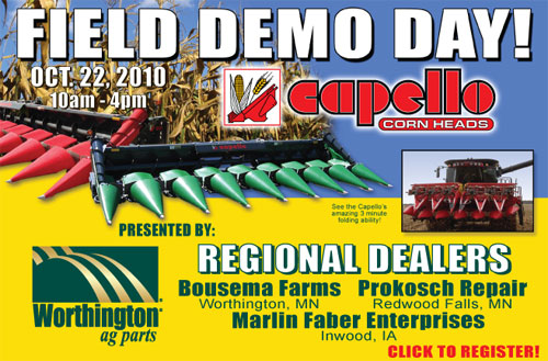 Capello Corn Heads - Field Demo Day