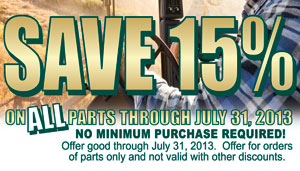 SAVE 15% in July
