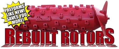 Rebuilt Rotors