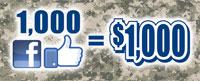 1000 Likes = $1000