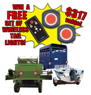 Win FREE Wireless Tail Lights!