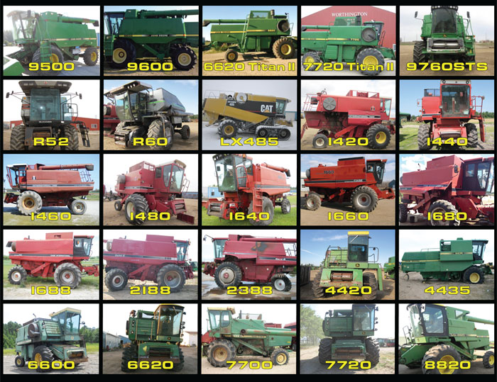 Harvest Salvage - Combines