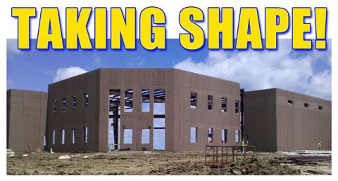 Worthington Ag Parts: Sioux Falls Property - Taking Shape!