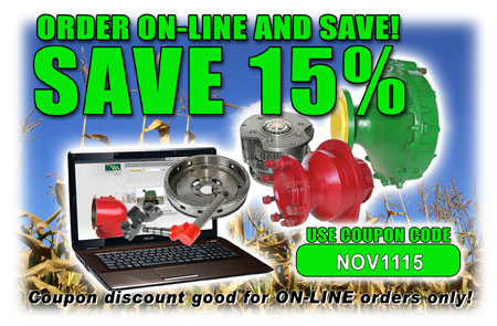 Save 15% on on-line orders only unitl 11/30/11... Code: NOV1115