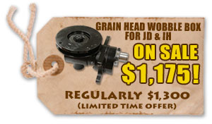 Grain Head Wobble Box