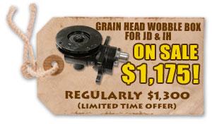 Grain Head Wobble Box