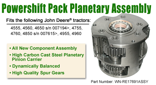 Powershift Pack Planetary Assembly