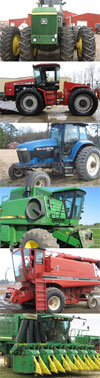 All Makes and Models of Tractors, Combines, Cotton Pickers and More!