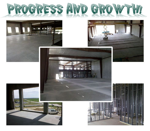 Worthington Ag Parts - Sioux Falls Building Progress