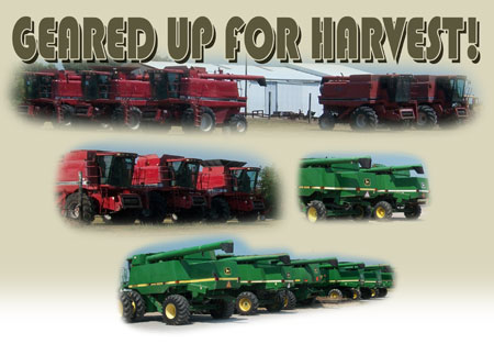 Geared Up For Harvest!
