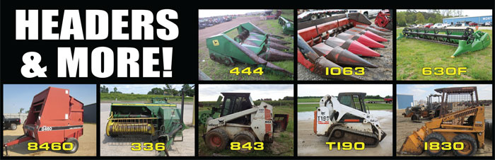 Harvest Salvage - Headers and more