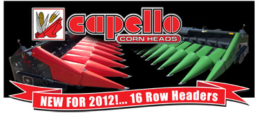 Capello - New for 2012!  16 Row Headers
