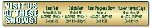 2012 Farm Show Dates