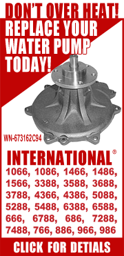 Water Pump for your International®