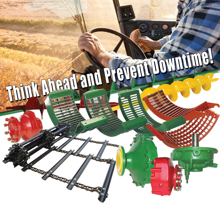 Combine Parts - Think Ahead and Prevent Downtime