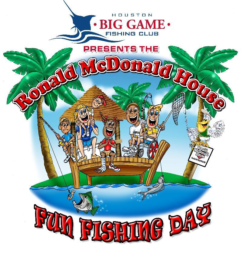 Ronald McDonald House Fun Fishing Day