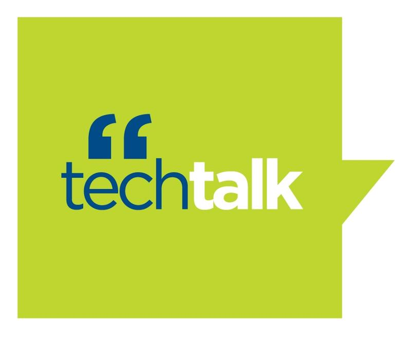 new TECH Talk LOGO