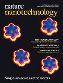 Nature Nanotechnology cover