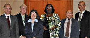 2011 IFSH Award presenters