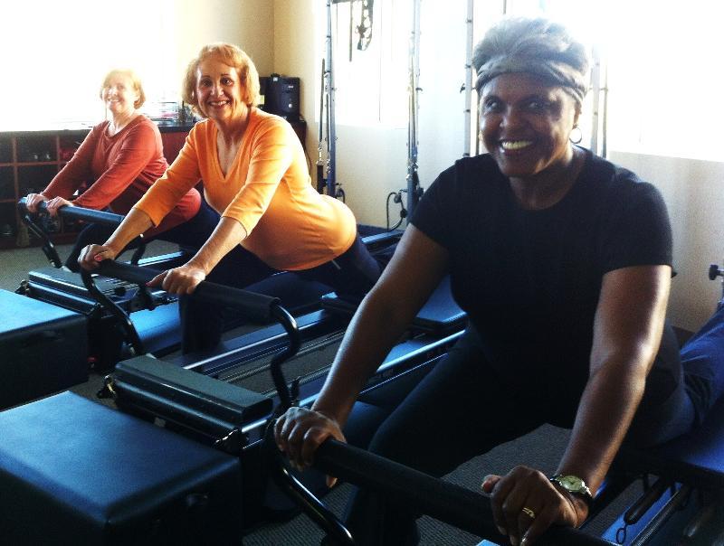 Senior Pilates Hip Stretch