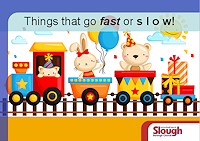 Things that go fast or slow