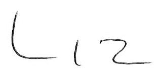 Liz McMillan signature