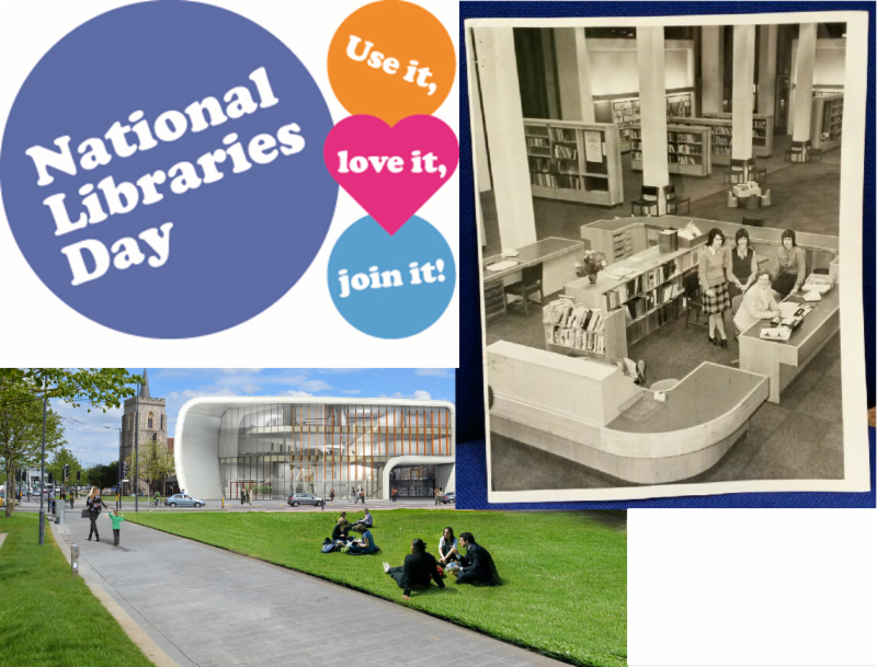 National Libraries Day Saturday 6 February