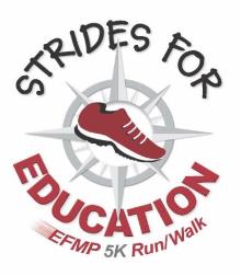 EFMP 5K race logo