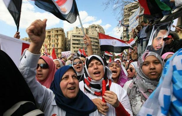 Women in Arab Spring