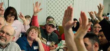 Caucus Hands