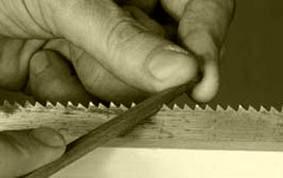 sharpen saw