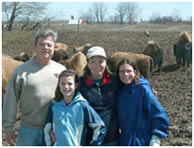 Vaughan Buffalo Farm Family