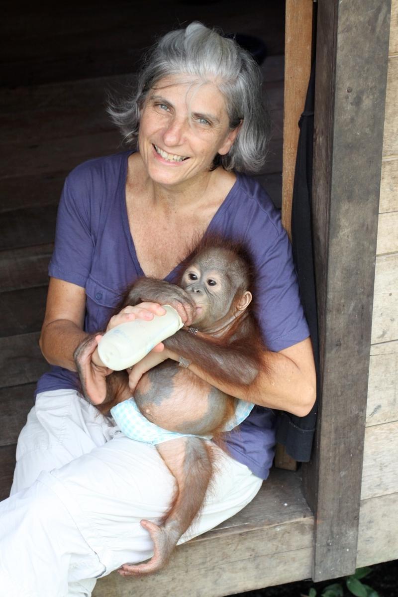 Orangutan Aid's Mara McCaffery