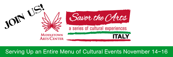 Join us for Savor the Arts - Italy November 14-16