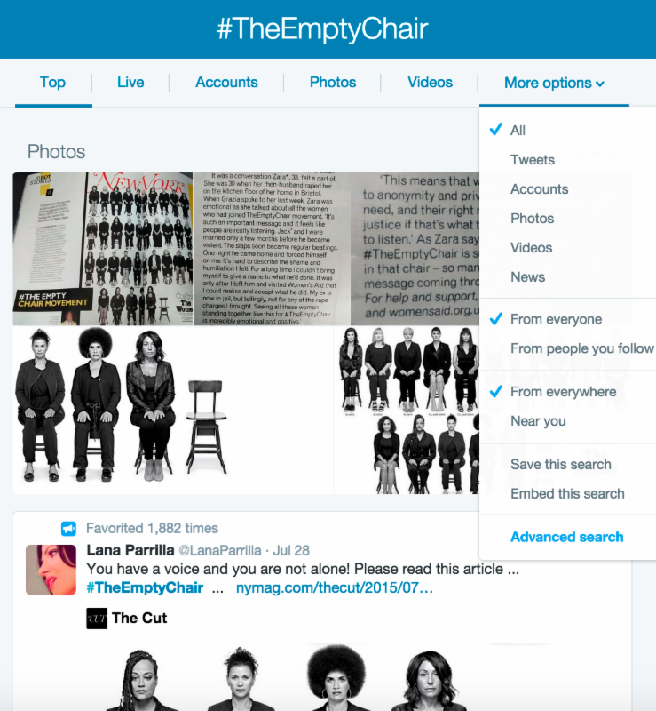 Story Goes Viral #TheEmptyChair