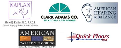 Dr. Harold J. Kaplan, Clark Adams Co., American Hearing and Balance, American Carpet, QuickFloors USA