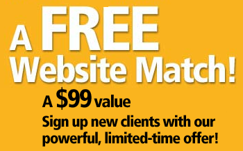 Free Website Match - $99 Value