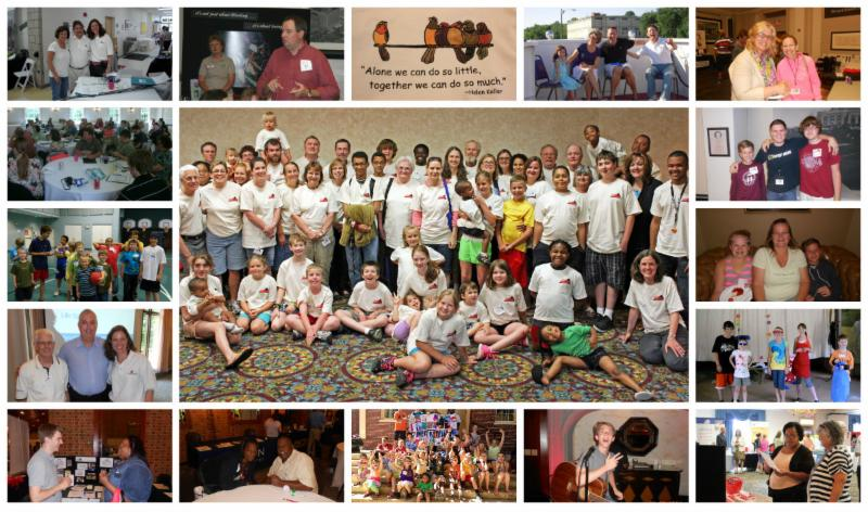 VHF Annual Meeting Collage