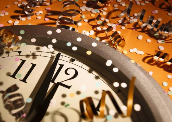 New Year Clock image